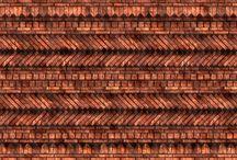 brick and stone pattern