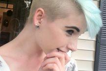 cool short colour hair / cool short colour hair