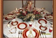 Tablescapes & Party Ideas / Table settings / tablescapes for your home and some Great ideas of Party Decor for all occasions.  / by Velta Thomas