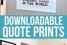 quotes printen