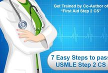 USMLE - 7 Easy Steps 2 CS Online Video Tutorial / Target USMLE is your one stop solution to pass USMLE Step 2 CS. Founded by Dr. Mary Iruthayanathan, coauthor of 3 rd edition of First Aid for USMLE Step 2 CS. First online video tutorial for students preparing for this exam - 7 Easy Steps 2 CS.