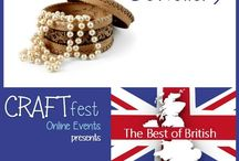 #CRAFTfest - Jewellery Category - Sept 2016 / International sellers with stalls in the JJewellery category of the September #CRAFTfest Event share with us their creations. http://www.craftfest-events.com/uk-events.html and http://www.craftfest-events.com/pride-of-america-form.html
