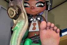 barefoot video game characters / Female video game characters showcasing their barefoot, barefeet, soles, toes, feet, foot.  Video game feet.