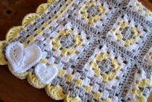 Baby Afghan For Boy Or Girl Granny Square