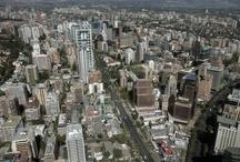 Barrio Sanhattan / Barrio El Bosque o Sanhattan , el nuevo sector financiero comercial y gastronómico de Santiago de Chile. Fotografías: Fernando Herrera