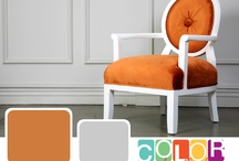 Oranges / We are inspired by color at CertaPro Painters and what better way to find color inspiration than in your own home. Whether it's a vintage piece of furniture or a brand new bedroom set you can draw color inspiration from the objects that are already in your home. Letting the furniture and decor of your home provide inspiration for the colors on your walls will give them that extra POP they need to be noticed. For more color advice please visit www.certapro.com/blog.aspx / by CertaPro Painters®