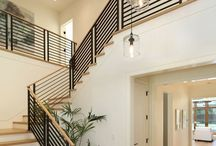 pentant lighting staircases