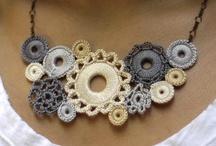 Crochet Jewellery / by Faye White