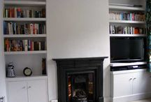 Alcoves / Ideas and inspiration for alcove shelves and cupboards