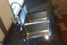 Sinks / Ideas and hopefully a little bit of inspiration for your kitchen! These are all different sinks that have been fitted within granite worktops we've fitted
