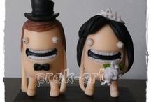 Muñecos torta