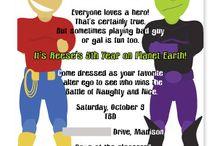 Birthday Party- Superhero / by Hayden Conley