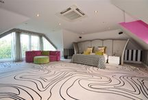 Funky Room Designs / Designs to get those creative juices flowing!