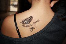 Tattoos (; / by Justine