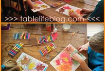 Fall and holiday art journaling