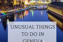 Geneva insolite / Travel, living...