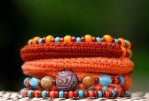 Crochet - horgolás - ékszerek, kitűzők, virágok