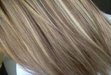 caramel and blonde colours