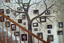családfa festés
