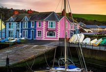 Aberaeron - West Wales / Aberaeron, West Wales, a colourful Georgian town on the coast