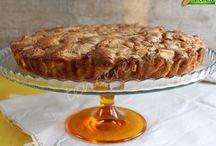 elmalı kek az yağlı