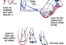 Drawing Feet & Legs