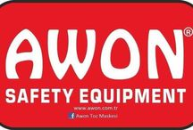 Awon dust mask and  Safety products. / Safety products.