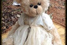 dolls, bears & etc.