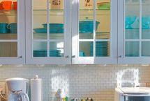 re-tiling kitchen
