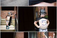 Micah's 3 year super hero session / Ideas for Micah's super hero studio session