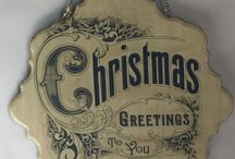 A Vintage Christmas / Vintage / French Country Christmas Home Decor