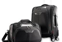 Luggages & Accessories / Always ready to travel. I love Samsonite luggages.