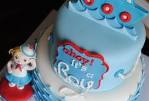 ♥ Nautical theme & Cake Ideas ♥ / Nautical theme... for parties & baby showers and cakes