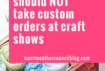 //Craft Show Info / How to's...on Craft Show displays and more
