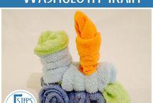 Washclothes Take Shape