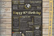 40th Birthday / Ideas for 40th
