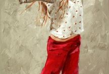 Beautiful paintings / Maria Oosthuizen fab paintings