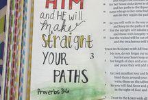 Bible Journaling - Proverbs
