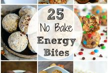 No bake energy bites / bars