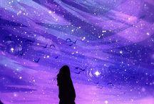 purple aesthetic