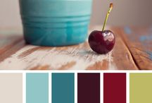 Food: Colour combinations / Colour combinations that go with different foods