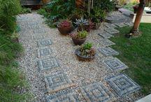 decorare il giardino
