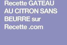 Gateau Citron Light