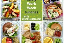 Meals to go / Recipes for taking lunch / by Sarah Black