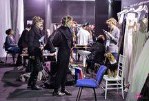 BACKSTAGE SFILATA VANITAS / scatti del backstage della sfilata Vanitas ad è Sposa