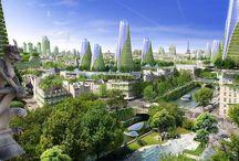 Futuristische Städte