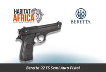 Handguns / Habitat Africa offers a wide selection of top-quality Handguns and Pistols including Semi-Automatics, Revolvers, Lever-Action and Bolt Action Pistols.