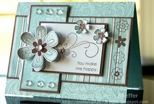 Handmade cards, 1st. Board, Get the Rubber Stamps Ready / by Nancy Ed