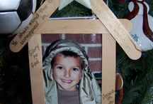Preschool ornaments Christmas