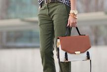 Different colours casual look